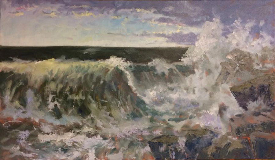 Ruige zee II (Rough Sea II)